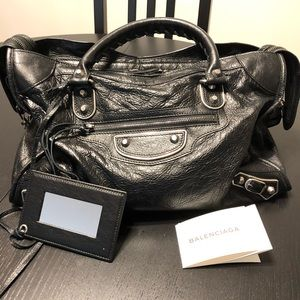 Balenciaga Classic metallic edge city bag